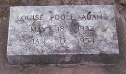 Louise <i>Poole</i> Adams