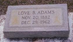 Love B Adams