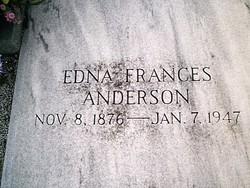 Edna Frances Anderson