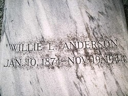 Willie L Anderson