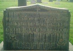 Ollie <i>Stribling</i> Coffee