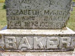 Elizabeth <i>Green</i> Baker