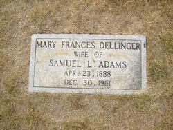 Mary Frances <i>Dellinger</i> Adams