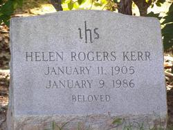 Helen <i>Rogers</i> Kerr