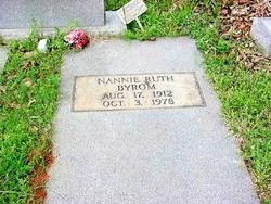 Nannie Ruth <i>Bearden</i> Byrom