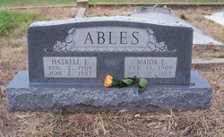 Haskel E. Ables