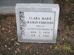 Clara Marie <i>Baskin</i> Edmonds