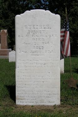 Pvt Stephen Burkett
