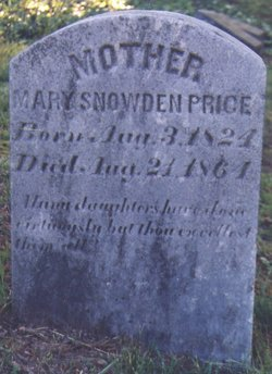 Mary Snowden <i>Pleasants</i> Price