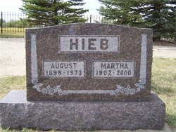 Martha <i>Glasser</i> Hieb