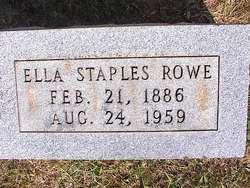 Ella <i>Staples</i> Rowe