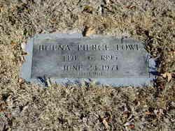Buena Clifton <i>Pierce</i> Lowe