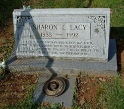 Sharon E. Lacy