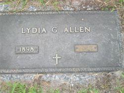 Lydia Irene <i>Green</i> Allen