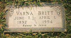 Varna <i>Carlisle</i> Britt
