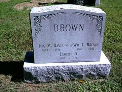 Ida M. <i>Davis</i> Brown