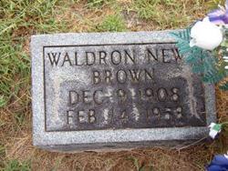 Waldron Marshall (Newt) Brown