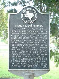 Abraham Carver Cemetery