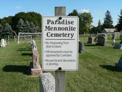 Paradise Mennonite Cemetery