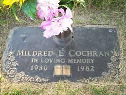 Mildred Elizabeth <i>Haston</i> Cochran