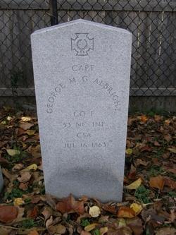 Capt George M. G. Albright