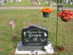 Corp Matthew Tyler Grimm