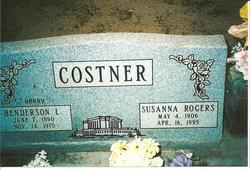 Susanna <i>Rogers</i> Costner