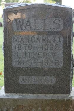 Margarett Jane <i>Zike</i> Walls