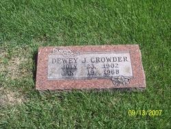 Dewey J. Jack Crowder