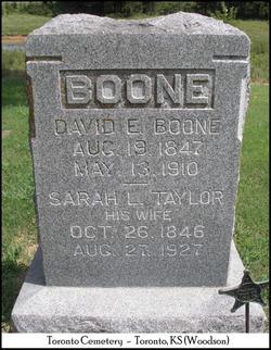 David Ewing Boone, Sr