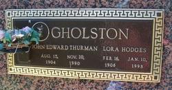 Lora <i>Hodges</i> Gholston