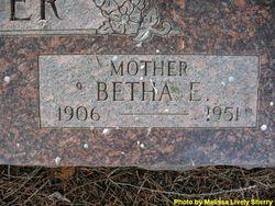 Betha Emily <i>Madden</i> Lester