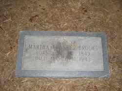 Martha Frances <i>Walthall</i> Brooks