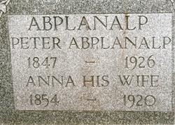 Anna <i>Weisenfluh</i> Abplanalp