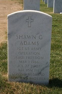 Sgt Shawn Galen Adams