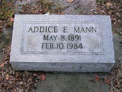 Addice E <i>Wilson</i> Mann