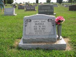 Carol Joan <i>Springer</i> Daniels