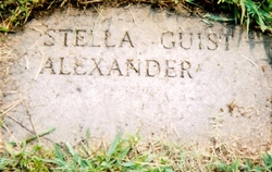 Stella <i>Guist</i> Alexander