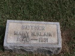 Mary <i>Naudain</i> Klair