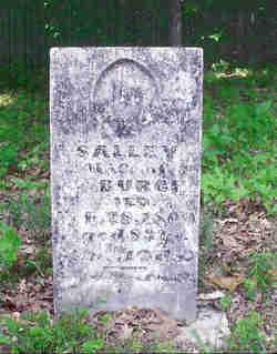 Sarah Salley <i>Gillespie</i> Burch