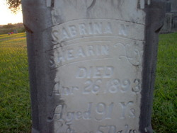 Sabrina N. <i>Burrows</i> Shearin