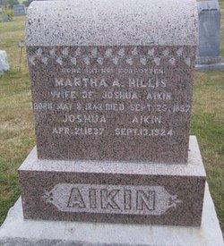Martha Ann <i>Hillis</i> Aikin