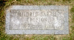 Mildred Sarah Crofton