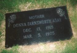 Donna Finch <i>Farnsworth</i> Asay