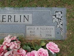 Annie M <i>Pasemann</i> Kerlin
