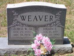 George E Weaver, Sr