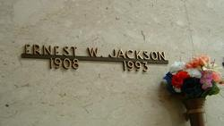 Ernest W Jackson