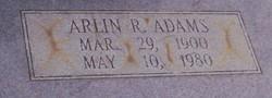 Arlin R Adams