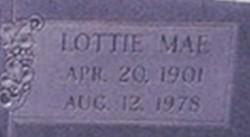 Lottie Mae Adams