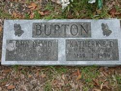 Katherine Beatrice <i>Davis</i> Burton